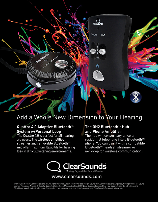 audio equipment advertising